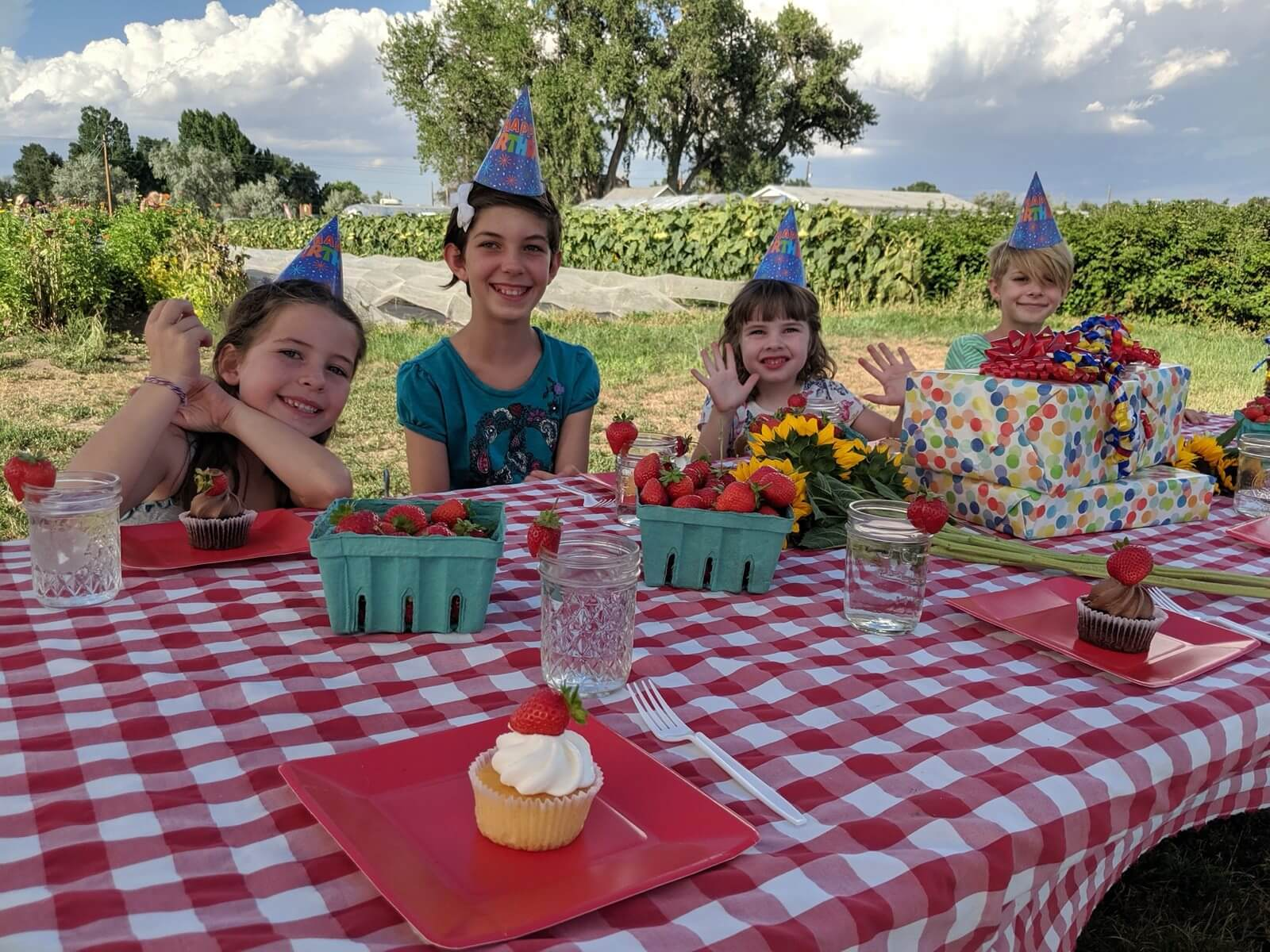 A Birthday Bash at Garden Sweet